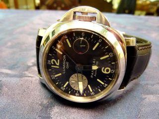 Panerai Luminor Gmt Armbanduhr Für Herren (pam00088) Bild