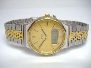 Bulova Accutron Alarm Chronograph Herrenuhr Zum Herrichten For Repair Bild