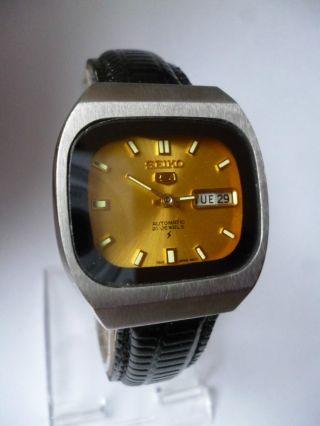 Seiko 5 Gold Eye Day Date Automatik,  Vintage, Bild