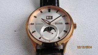 Hugo Boss Automatic Mit Datum - Mondphase.  Anzeiger Hau Bild