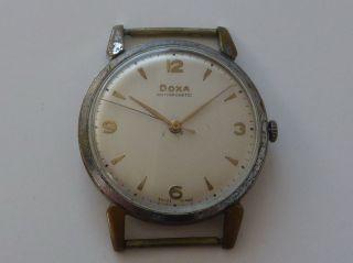 Vintage Doxa Herrenuhr - Handaufzug - Big 36mm Bild