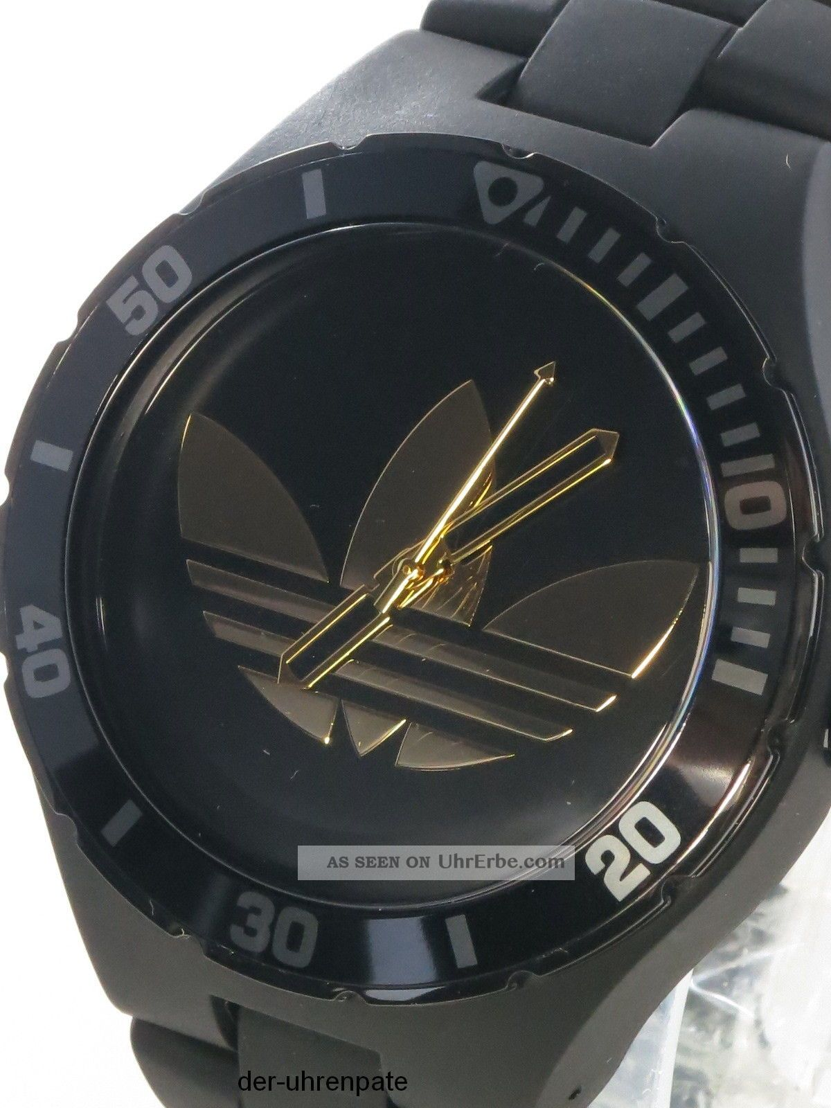 adidas herrenuhr uhr nylon armband cambridge schwarz gold adh2644. Black Bedroom Furniture Sets. Home Design Ideas