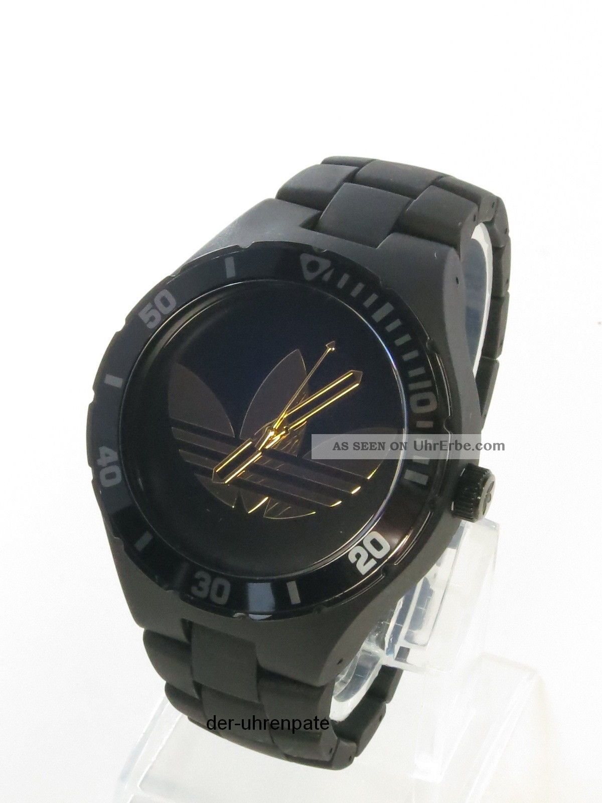 adidas herrenuhr uhr nylon armband cambridge schwarz. Black Bedroom Furniture Sets. Home Design Ideas
