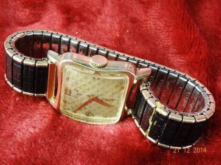 Lord Elgin Mechanische Uhr 50 Er Jahre,  Usa,  Läuft Gut,  17 Jewels Bild