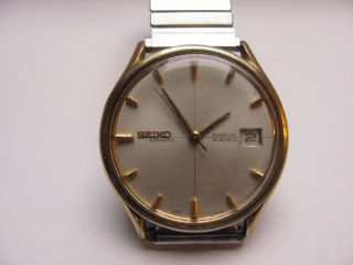 Vintage Old Seiko Automatic Uhr Hau Sea Lion M 77 Weekdater Men ' S Wrist Watch Bild