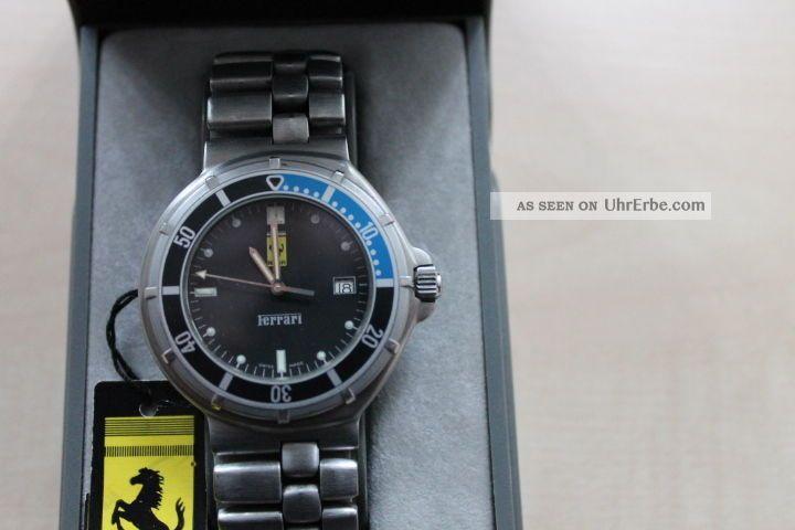 Ferrari Formular Off Shore Uhr By Cartier Armbanduhren Bild