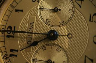 Bildschöner Bulova Chronographen - Klassiker Lemania 872 Bild