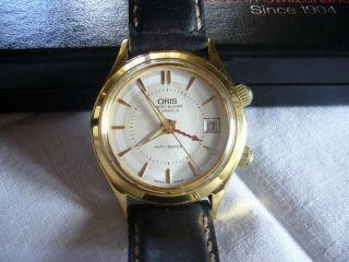 Oris Armband - Wecker Handaufzug As 1931 Herrenarmbanduhr Hau Schweiz Datum Bild