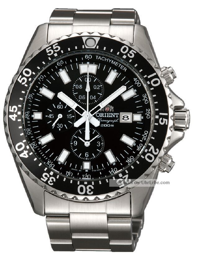 Orient Taucherchronograph Armbanduhren Bild