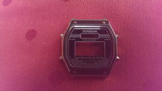 Uhrmacher Werkstandauflösung Armbanduhr Gehäuse Dugena Chronograph Quartz Bild