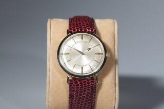 Armbanduhr,  14k,  750er Weißgold,  Longines,  Mystery Dial,  Rarität Bild