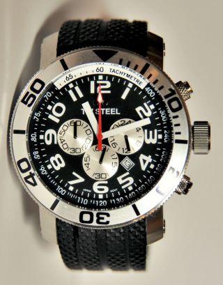 Tw Steel Taucherchronograph 48mm Neuwertig Bild