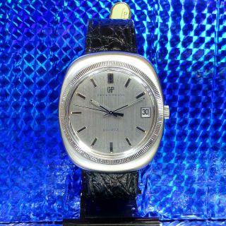 Echte 70èr Jahre Vintage Girard Perregaux Quartz Top Werk 354 Herrenuhr 39,  2 Mm Bild
