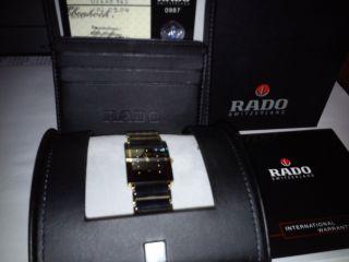 Rado Integral Xl Herrenuhr High Tech Keramik Mit Box & Papiere Vom Sammler Neuw. Bild