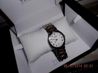 Tissot Uhr Bicolor Hochwertiges Armband Bild