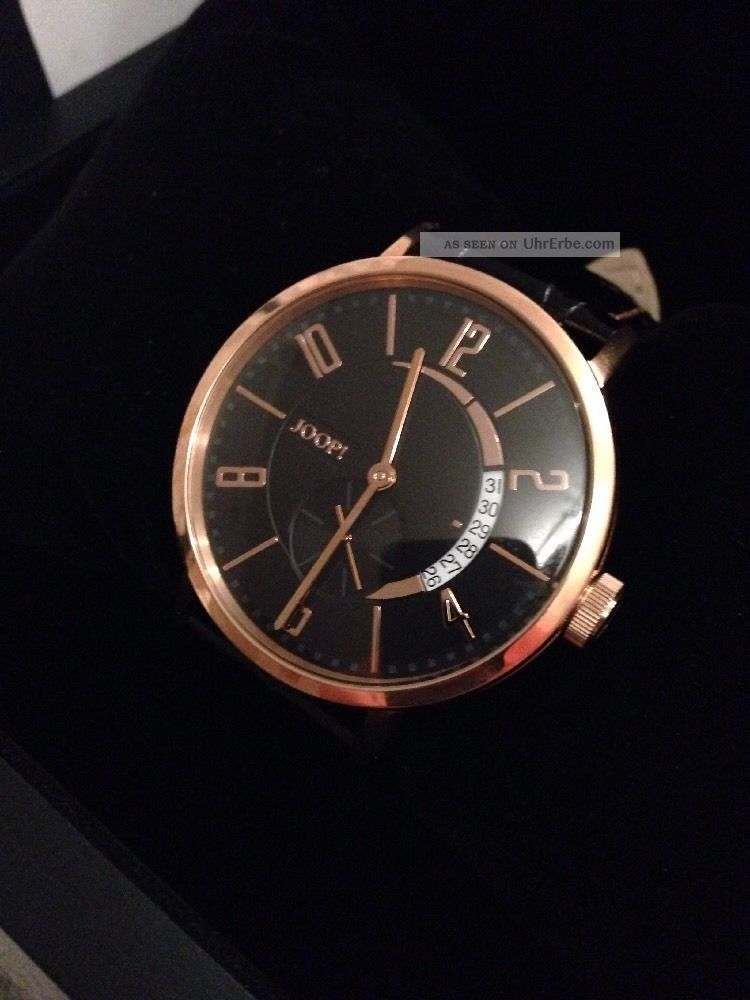 Joop Herren Armbanduhr Tm451 - 1 Limited Edition 585 Gold Und Ovp Armbanduhren Bild