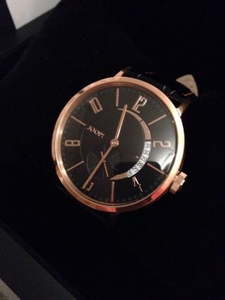 Joop Herren Armbanduhr Tm451 - 1 Limited Edition 585 Gold Und Ovp Bild