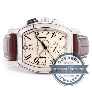 Armbanduhr Vacheron Constantin Stahl Automatisch Chronograph 49145/000a Bild