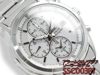 Seiko Herren Uhr Solar Alarm Chronograph Ssc003p1 Bild