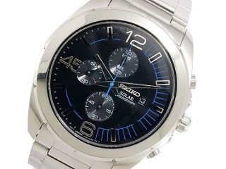 Armbanduhr Herren Seiko Solar Chronograph Ssc213p1,  Box Bild
