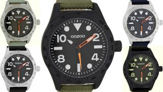 Oozoo Sport Design Uhr Xxl 47mm 6750 Bild