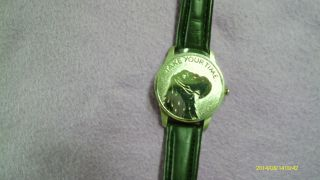 Herren Armbanduhr Mit Deckel Armband Schwarz Echt Leder Stainless Steel Case Bac Bild