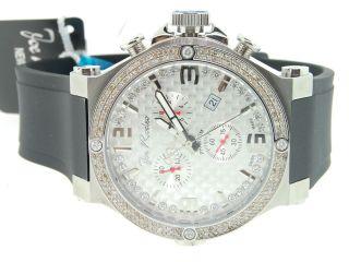 Herren Armbanduhr Joe Rodeo Phanrom 2 Reihen Diamant Lünette Jojino Jojo 2.  25 Kt Bild
