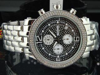 Herren Jojino /jojo /rodeo Diamant - Uhr - Glänzendes Zifferblatt.  25ct 46mm Mj - 1055 Bild
