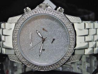 Mens Jojino Platin Joe Rodeo Jojo 0.  25c - Diamant - Uhr Bild