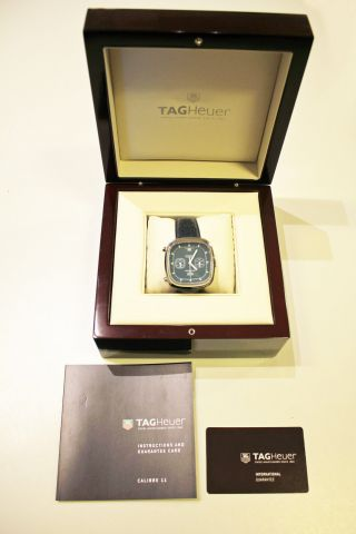 Tag Heuer Silverstone Calibre 11 Chronograph Limited Edition Bild