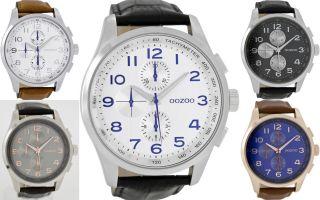 Oozoo Design Uhr Xxl Ø50mm 6765 Bild