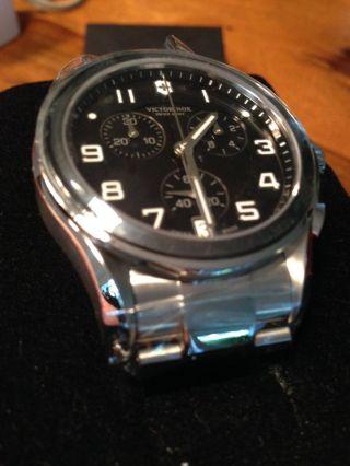 Victorinox Swiss Herren Uhr Xl Classic Chronograph 241544 Luxuxuhr Uvp €585 Bild