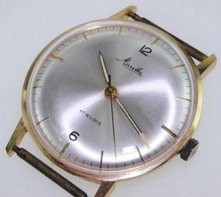 Mauthe 612 Watch Damen Herren Uhr 1950 /1960 Handaufzug Lagerware Nos Vintage 72 Bild