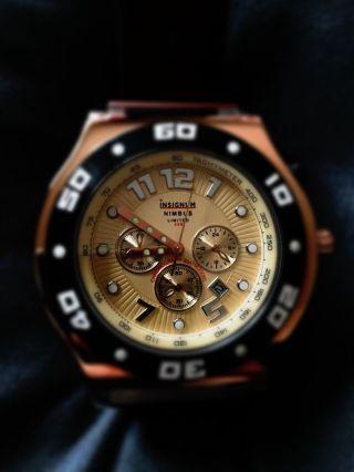 Armbanduhr Herren Insignum Nimbus Limited Edition Selten Saphirglas Bild