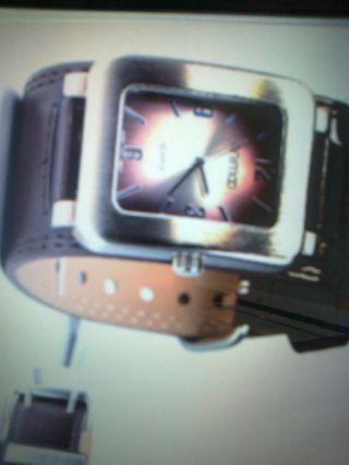 Herren Armbanduhr Mit Doppeldornschließe Bild