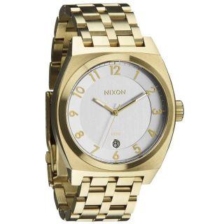 Nixon Herren Das Monopoly Silber Zifferblatt Gold Stahl Armband - Quarz - Uhr Bild