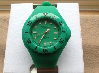 Armbanduhr Madison Unisex Nagelneu Unbenutzt Mit Verpackung GrÜn Bild