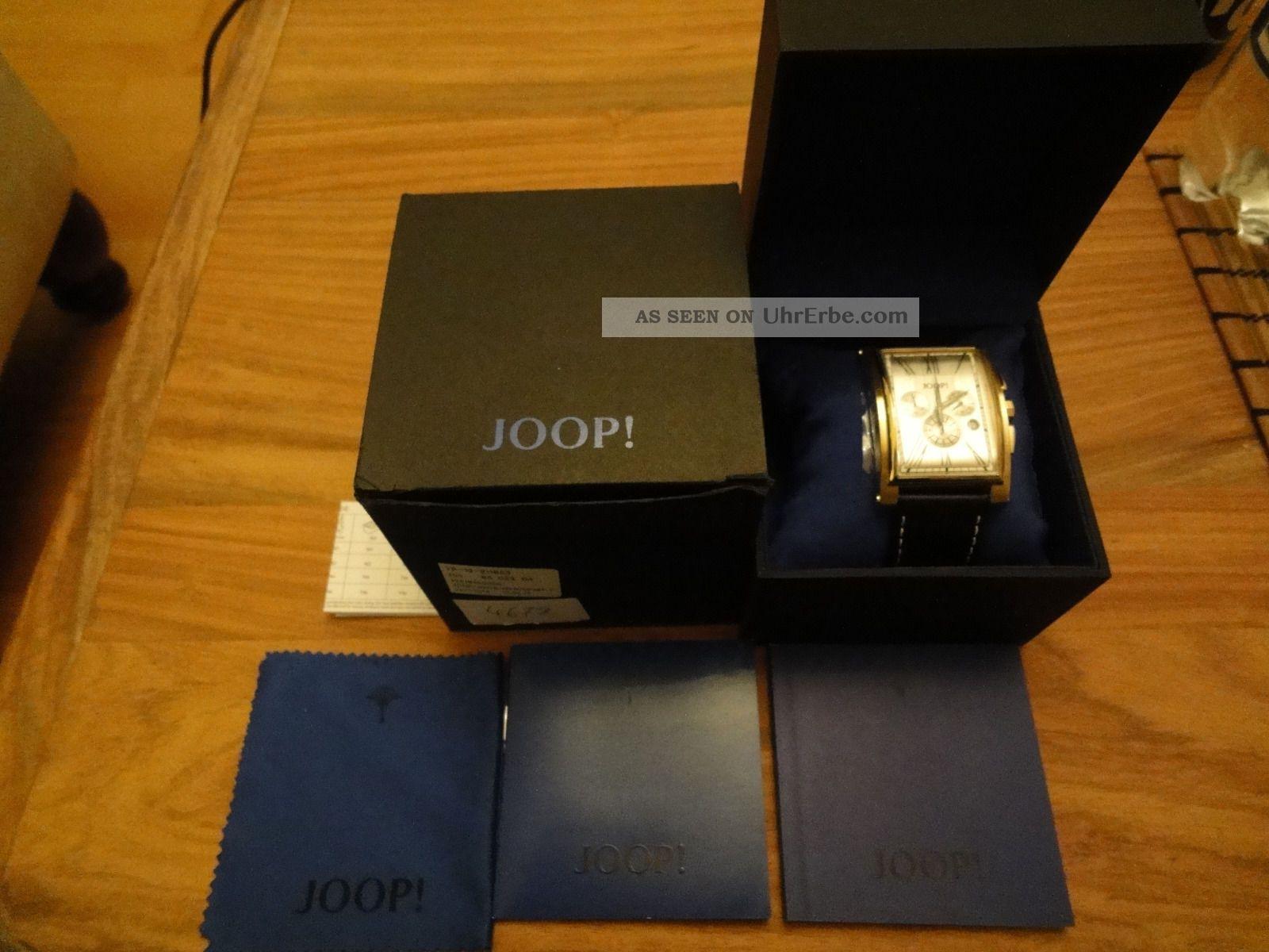 Joop Herrenchronograph Curve Armbanduhren Bild