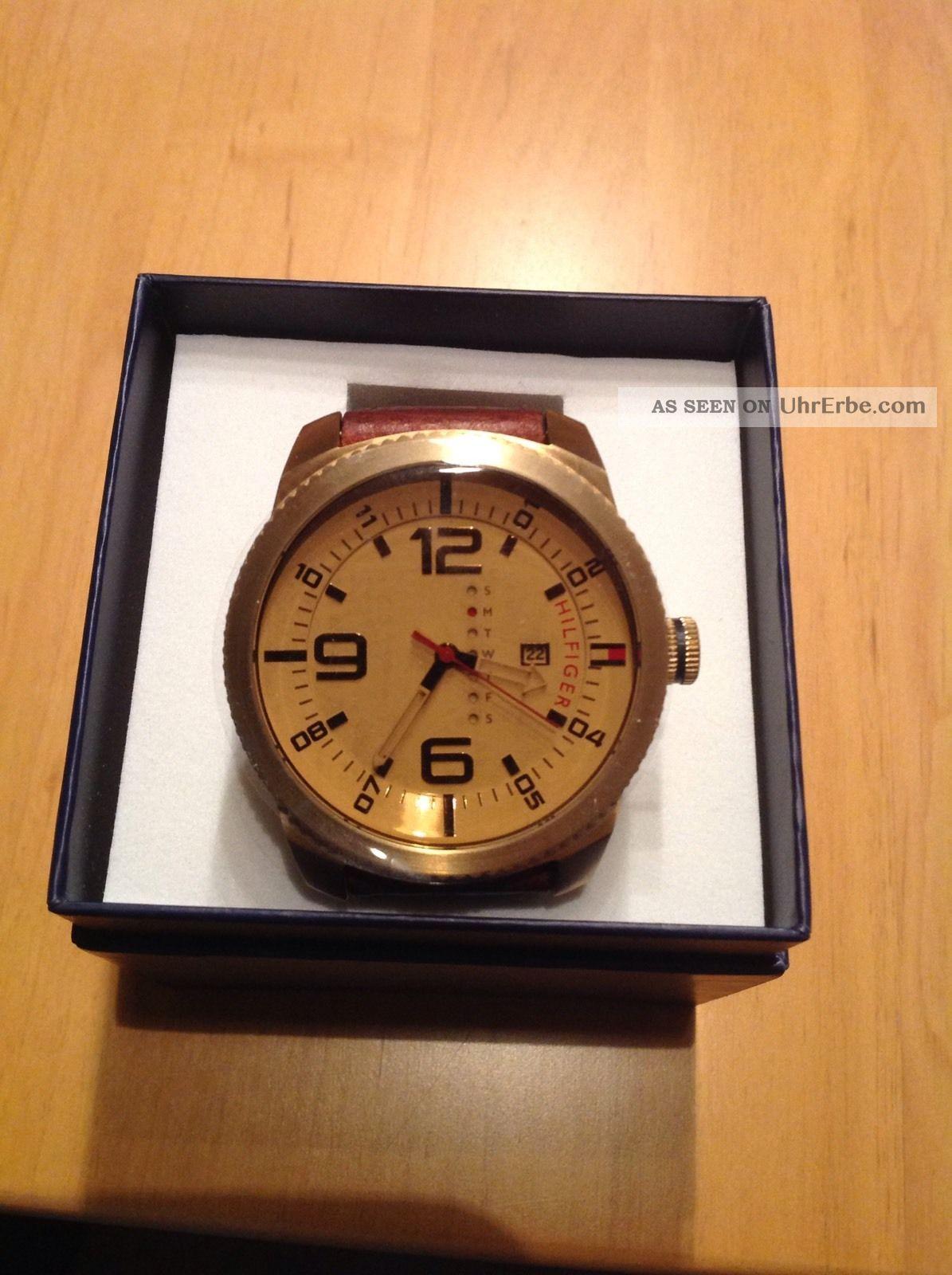 Tommy Hilfiger Herrenuhr 50mm Armbanduhren Bild