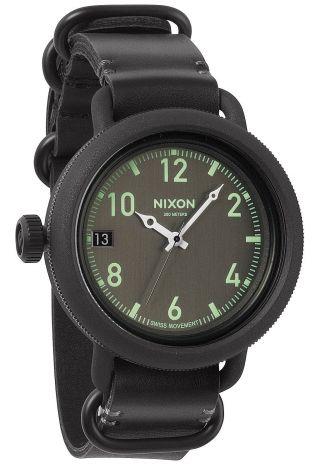 Nixon October Leather Herren Uhr A279 001 Bild