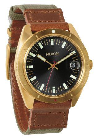 Nixon Rover Surplus Gold Herren Uhr A355 1432 Bild