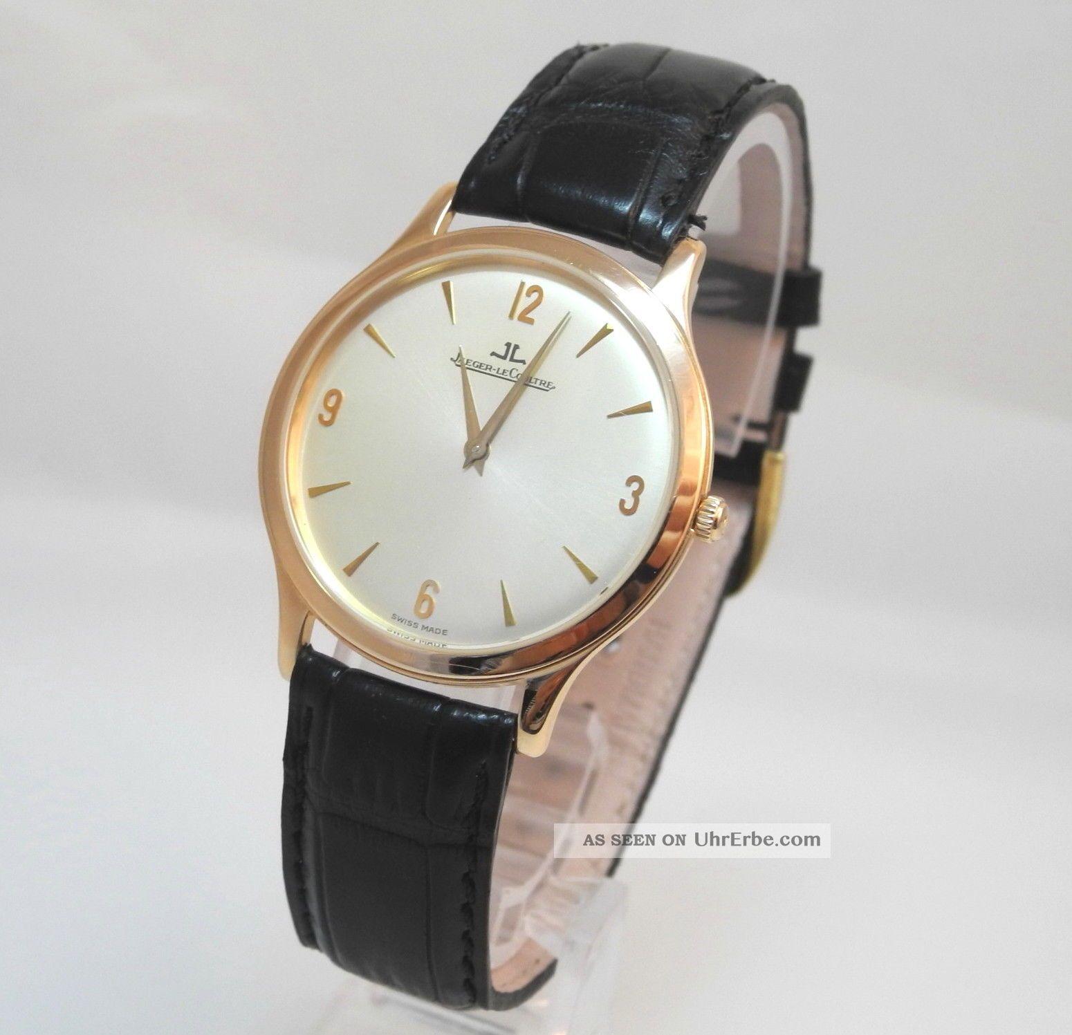 Jaeger - Lecoultre Master Ultra Thin Ref:nr: 145.  2.  79 18k/750 RosÈgold Armbanduhren Bild