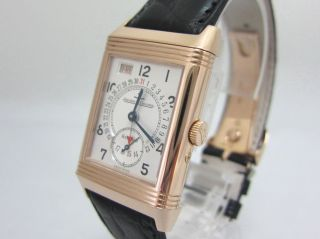 Jaeger - Lecoultre Reverso Day - Date Grand - Taille - 750er Rotgold Box U.  Papiere Bild