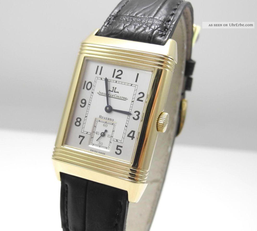 Jaeger - Lecoultre Reverso Grande - Taille - 750 /18kt Gold Top Armbanduhren Bild