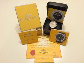 Breitling Navitimer World Ref.  A24322.  Komplettes Full Paket Bild