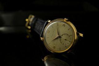 Stunning Iwc Caliber 88,  Vintage Watch (50 ' S) 18k Rose Gold,  36,  5 Mm,  Gorgeous Bild