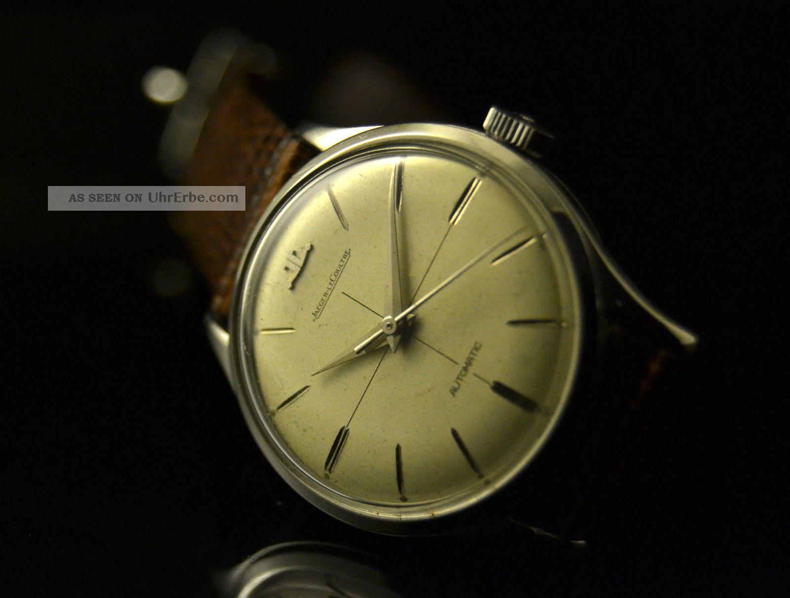 Jaeger Lecoultre E390 Automatic,  Stainless Steel Case,  Vintage Watch Cal.  K880 Armbanduhren Bild