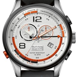 Hugo Boss Baldessarini Herrenuhr 1512501 Chronogrph Yachting Timer Uvp 599€ Bild