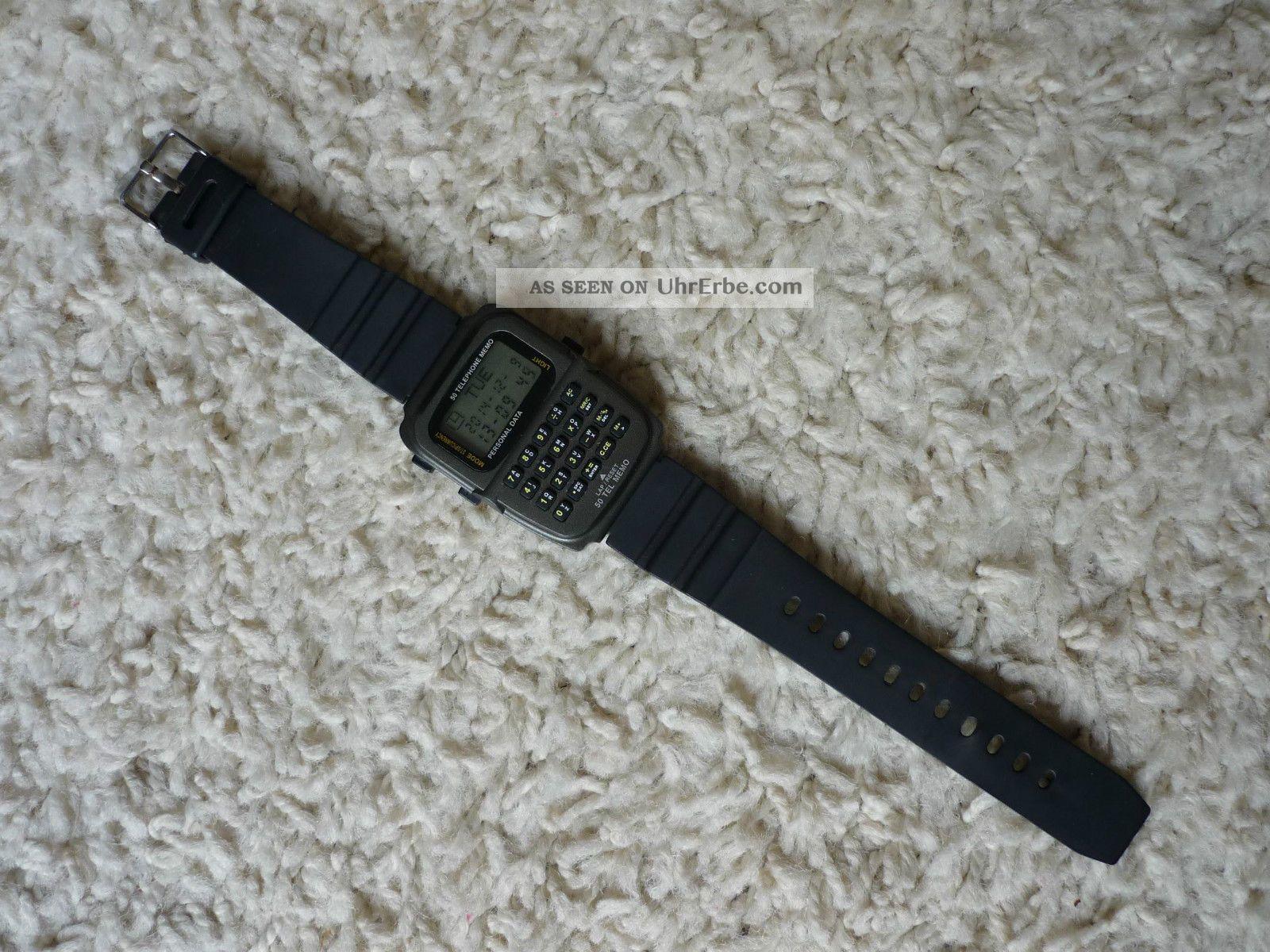 Uhr Herren Meister Anker Lcd Personal Data Batterie Viele Funktionen Armbanduhren Bild