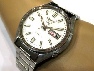 Seiko 5 - Automatic - Classics - Armbanduhr - 37 Mm - Stahl - Tag & Datum - Mit Bild